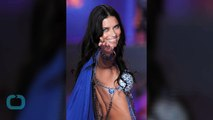 Adriana Lima Flaunts Flawless Figure, Whips Hair in Slow Motion for Love Magazine's Advent Calendar