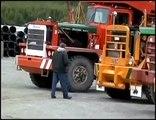 Canada Forest and mountain extreme machines - Extreme trucking on Vancouver Island
