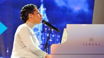 Alicia Keys' Baby Bump Receives a Kiss From Bono--See the Adorable Pic!