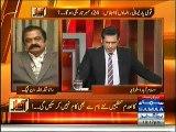 Rana Sanaullah Anchor aur Faisal Raza Abidi Par Baras Pary