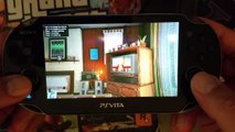 PS VITA Remote Play PS4 GTA V Quick Look - video dailymotion