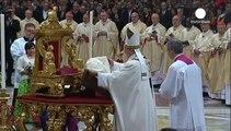 """Le pape François invite les Chrétiens d'Orient à résister par la """"tendresse"""""""