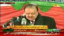 President Mamnoon Hussain Speech on Yaum e Qauid-e-Azam - 25th December 2014