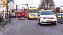 Beelden: Auto schept fietsster bij Wedderkerk Oude Pekela - RTV Noord