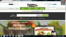 Godaddy Tutorials - Installing WordPress (One-Click Install)