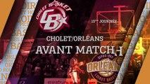 Avant-Match - J15 - Orléans se déplace à Cholet