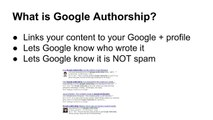 Google Authorship Tutorial - markup for wordpress and general sites