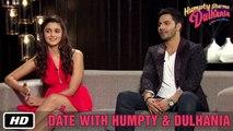 Date with Humpty & Dulhania   Karan Johar, Varun Dhawan, Alia Bhatt   Humpty Sharma Ki Dulhania