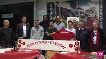 La Team Pétanque Carcassonne au Trophée des villes  2015 :