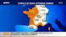 BFM Story: Neige: 19 départements sont placés en vigilance orange dans l'Est - 26/12