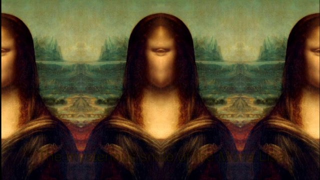 The mysterious smile of the Mona Lisa