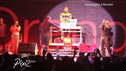 EXCLU Youssoupha Live - On se connait - Concert Bamako 20 décembre 2014