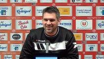 L1-J26 / EAG-MHSC : la conférence de presse d'avant match de Jocelyn Gourvennec