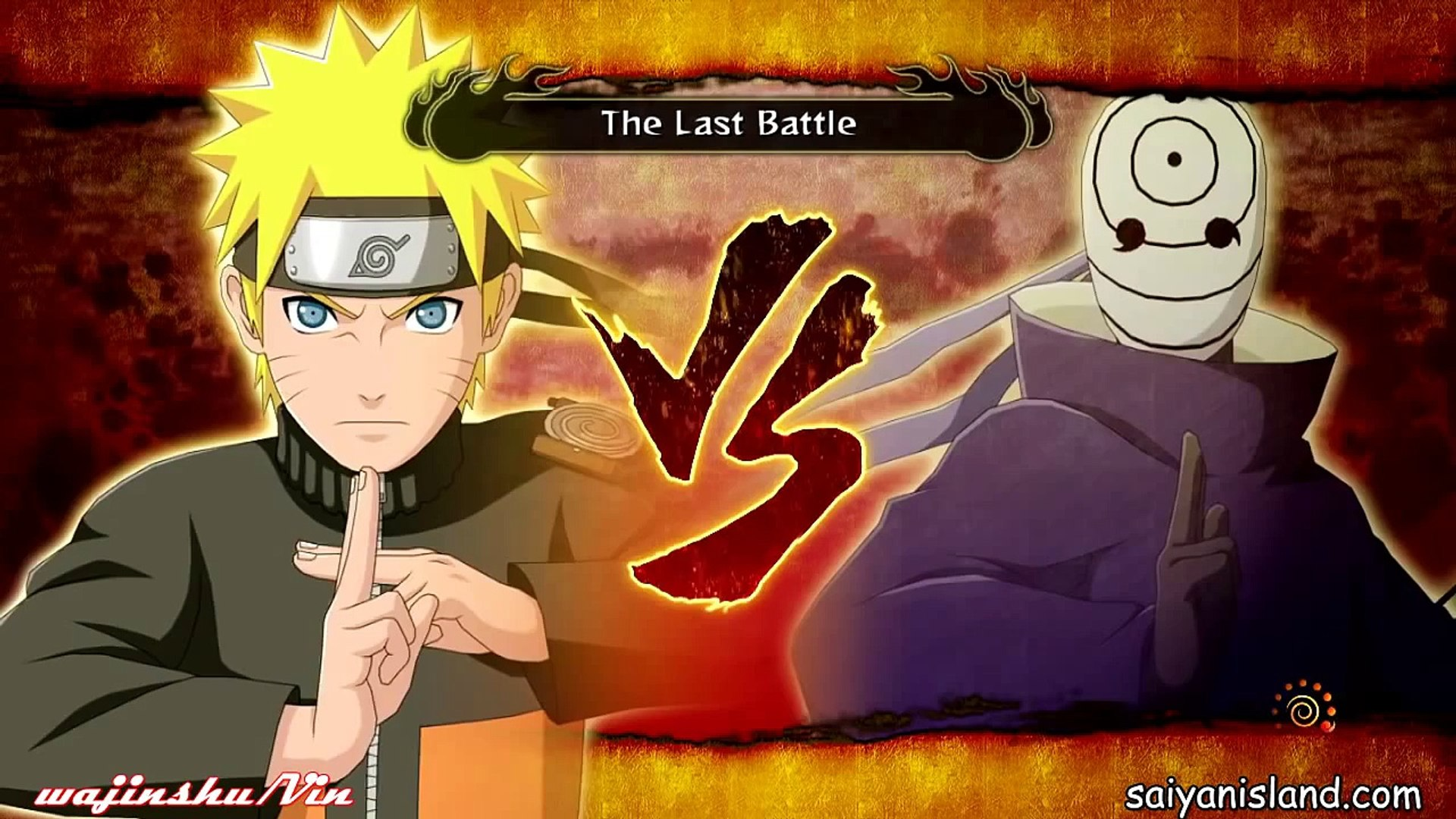 Naruto Shippuden Ultimate Ninja Storm 3 - Naruto Vs Tobi Final Boss Battle