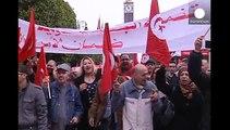 Demonstration gegen Terrorismus in Tunesien