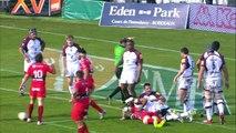 TOP14 - Bordeaux-Toulon: Essai Maxime Mermoz (TLN) - J18 - Saison 2014/2015