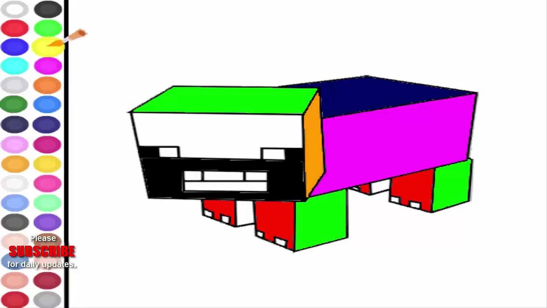 Minecraft Games Minecraft Coloring Pages Game Free Games