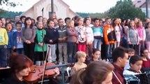 Un peu de vert sur le désert - Ecoles de musique et Lucie Aubrac - inauguration crèche les Lucioles