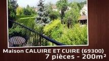 A vendre - Maison/villa - CALUIRE ET CUIRE (69300) - 7 pièces - 200m²