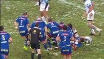 TOP14 - Grenoble-Montpellier: Essai Hendrik Roodt (GRE) - J18 - Saison 2014/2015