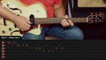 Blue Suede Shoes - Elvis Presley (guitar lesson - aula de guitarra)