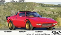 1972 Lancia HF Stratos hammers for $600k USD +