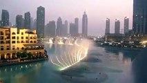 Dubai Fountains - Whitney Houston - I Will Always Love You