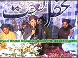 Syed Abdur Rahman Qadri(mhfil koita blochistan 2010)bekhud kye dete hain mob;03002990539-03343384950