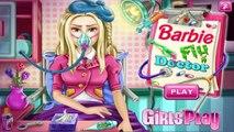 ▐ ╠╣Đ▐► Jeu de Barbie - Barbie jeu grippe médecin - Jeux gratuits en ligne