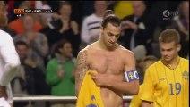 Le but de légende de Zlatan Ibrahimovic contre Angleterre !The purpose of legend of Zlatan Ibrahimovic against England!