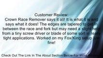 Nashbar Crown Race Remover Review