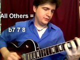 Jazz Guitar Scales: Bebop modes (how to apply) - Jazz Guitar Lesson