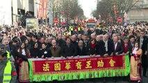Paris célèbre le nouvel an chinois sous le signe de la chèvre
