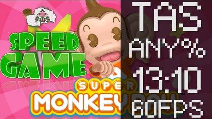 Speed Game [60FPS]: TAS Super Monkey Ball