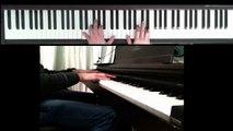 Edith Piaf - Milord (Piano cover tutoriel)