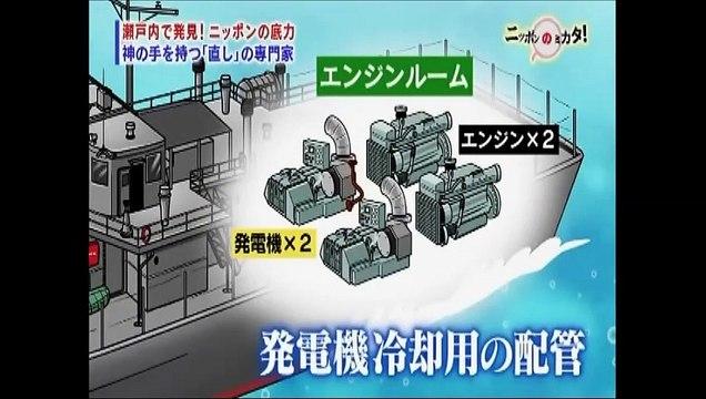 たけしのニッポンのミカタ20150213石田造船