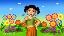 3D Animation Chubby Cheeks Dimple Chin Nursery rhyme for children with Lyrics