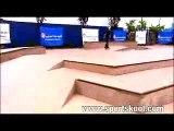 Skateboarding Down Ramps