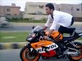 pakistan biker wheeling 2015