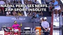 Benzema mis à nu, Nadal perd ses nerfs... ZAP Sport insolite