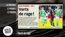 "L'OM ""Verts de rage"", Lyon toujours leader !"