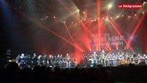"""Nuit de la Bretagne. Le """"Fest Rock"""" de Red Cardell et Bagad Kemper à la Brest Arena"""