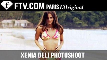 Sexy Bikini Model Xenia Deli Suits Up for WORLD SWIMSUIT | FashionTV