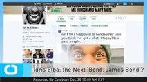 Idris Elba: the Next 'Bond, James Bond'?