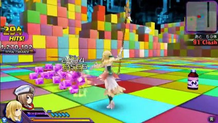 Trailer d'introduction de Hyperdimension Neptunia U : Action Unleashed