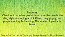 Brown Monkey Baby Bottle Holder for Hands Free Bottle Feeding by Bebe Bottle Sling, LLC Review