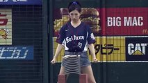 Japanese Girl's Badass Way To Throw Out The First Pitch