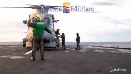 Incendio al traghetto: una vittima. Oltre 160 ancora a bordo
