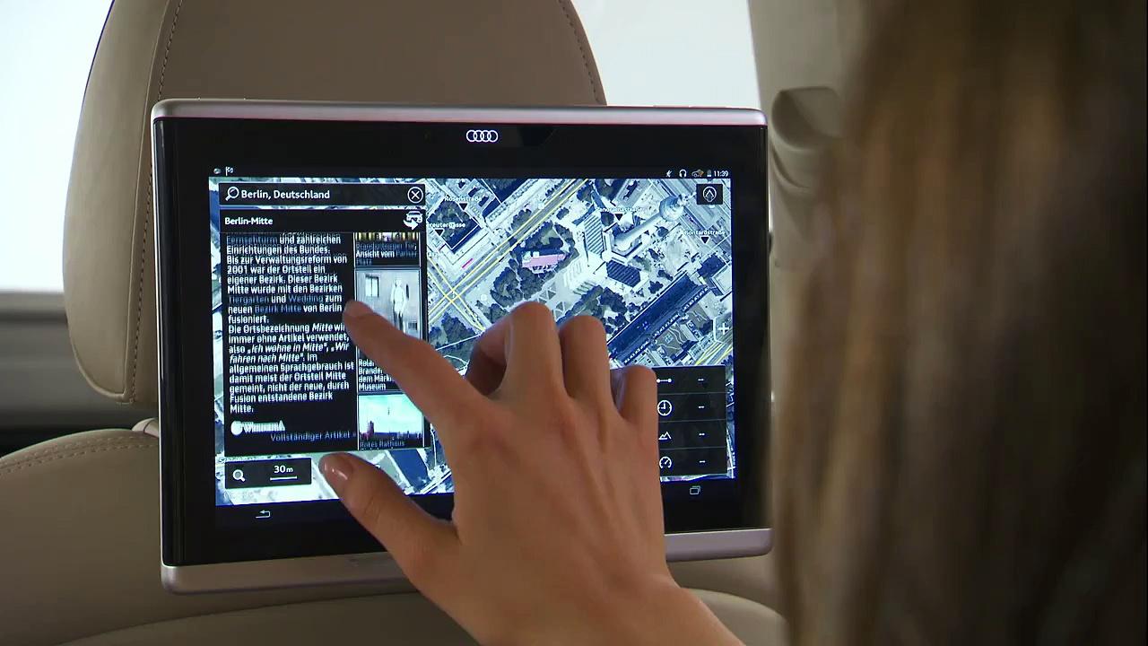 Audi Q7 – Audi tablet (EN)