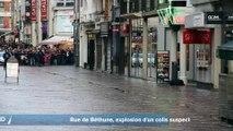 Explosion d'un colis suspect rue de Béthune à Lille